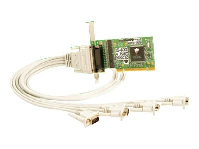 Brainboxes IntaShield 4-Port RS232 Serial Adapter, IS-400, 16161722, Controller Cards & I/O Boards