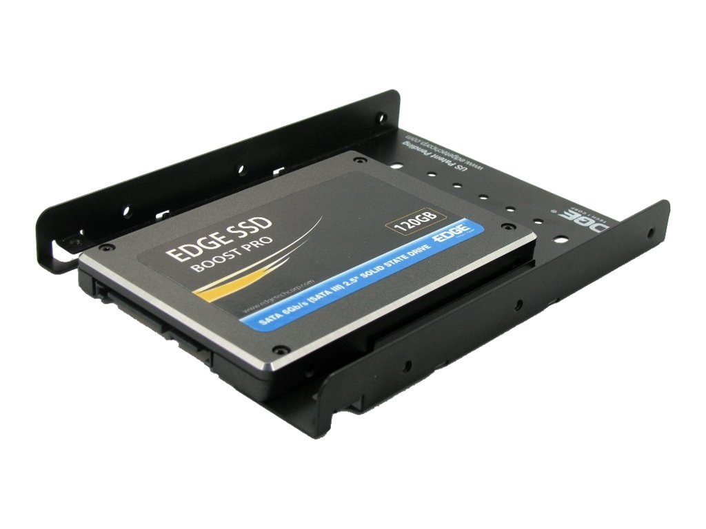 Edge Boost Solid State Drive Upgrade Kit for Desktop w  Bracket Adapter & SAS 6Gb s Cable, PE229863