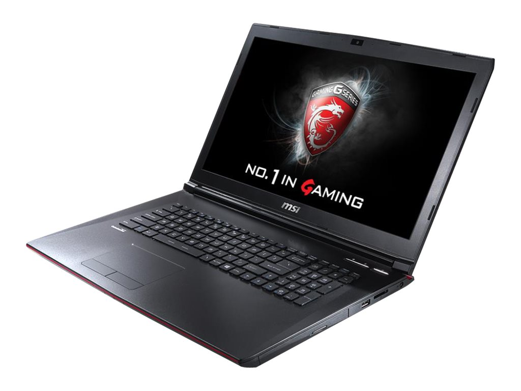 MSI GP62 Core i7-6700HQ 2.6GHz 16GB 1TB+128GB SSD DVD SM ac BT WC 6C GTX 960M 15.6 FHD W10