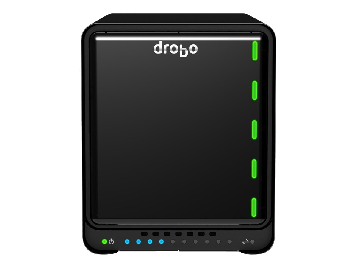 Drobo 5D RAID Array USB 3.0 Thunderbolt SSD SATA, DRDR5A21, 14565512, Hard Drive Enclosures - Multiple