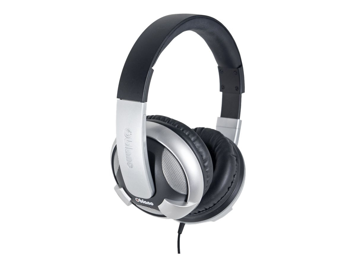 Syba OBLANC UFO Around Ear 2.0 Stereo Headphone w  Mic, OG-AUD63044