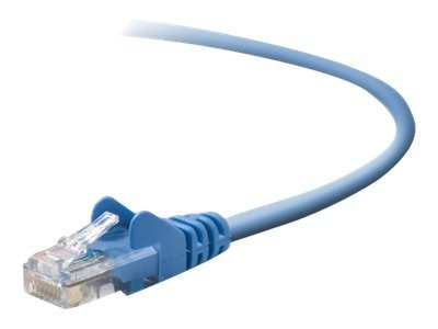 Belkin Cat5e Patch Cable, Blue, Snagless, 10ft, A3L791-10-BLU-S