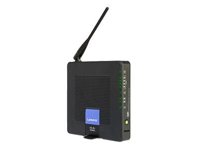 Cisco Wireless-G Router 2 Phone Port, WRP400-G1, 8143647, Wireless Routers