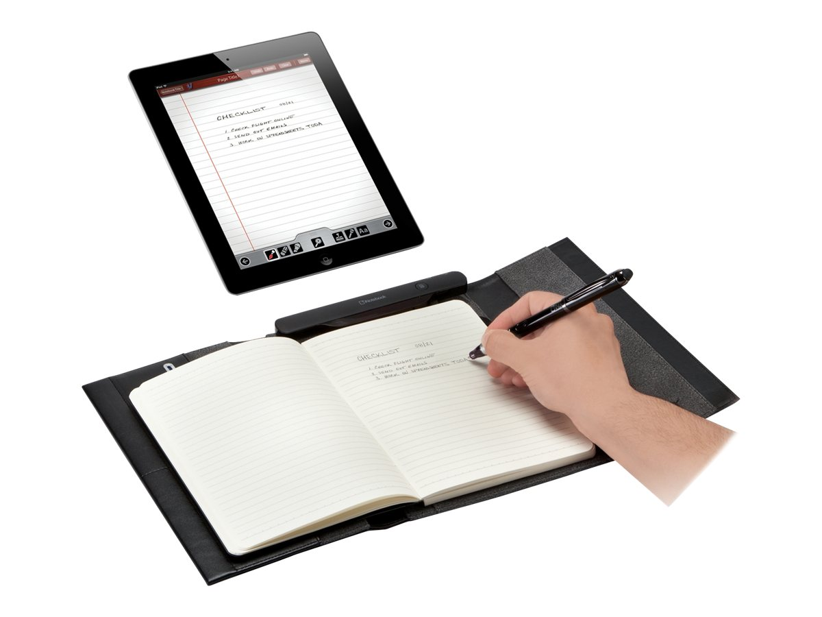 Targus iNotebook Application Enabled Case with Pen, Black, AMD001US, 15131433, Digital Media Player Accessories