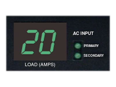 Tripp Lite PDU Switched ATS 120V 20A 5-15 20R (16) Outlet L5-20P Horizontal 1U RM, Instant Rebate - Save $20, PDUMH20ATNET