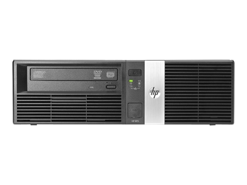HP Smart Buy rp5810 POS i5-4570S 2.9GHz 4GB RAM 500GB HDD DVD Win 7 Pro 64-bit, J6D60UT#ABA