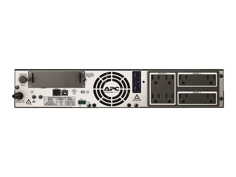 APC Smart-UPS X 1500VA 1200W 2U Rack Tower LCD 120V UPS (8) Outlets, SMX1500RM2U