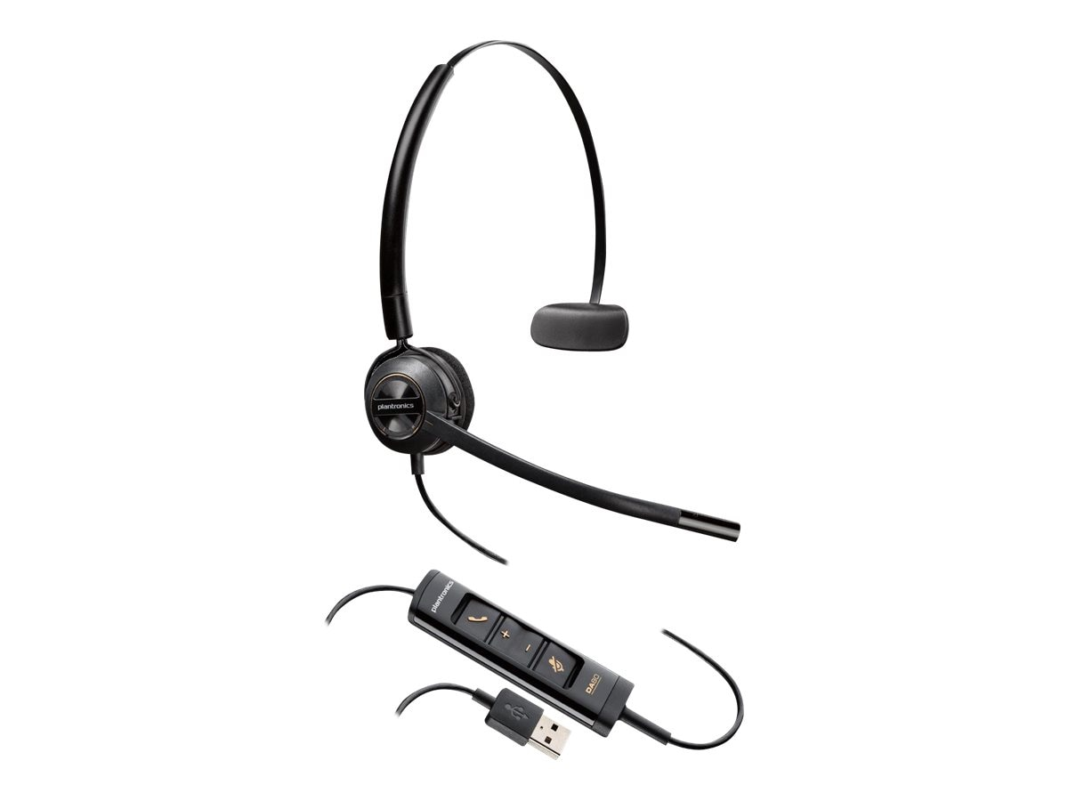 Plantronics HW545 USB Headset, 203474-01