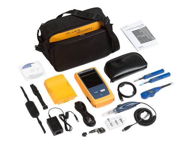 Fluke FI-7000 FiberInspector Pro with MPO Tip, Click Cleaners
