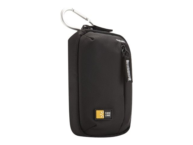 Case Logic Point & Shoot Camera Case, TBC-402BLACK, 14718486, Carrying Cases - Camera/Camcorder