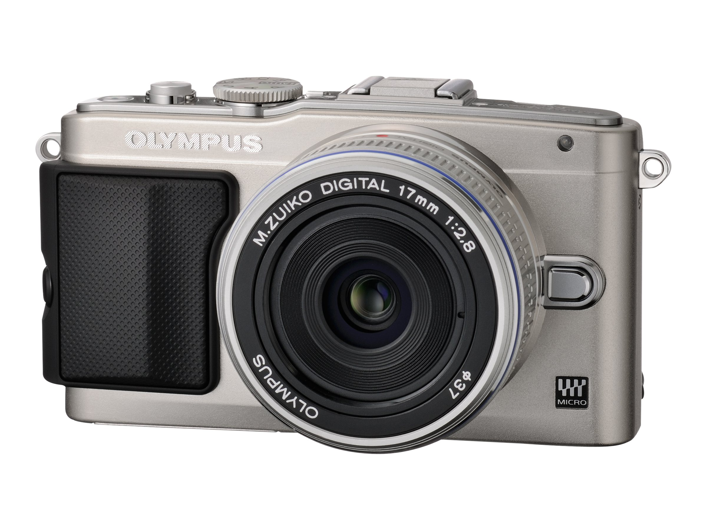 Olympus E-PL5 with Silver 14-42mm Lens - Silver
