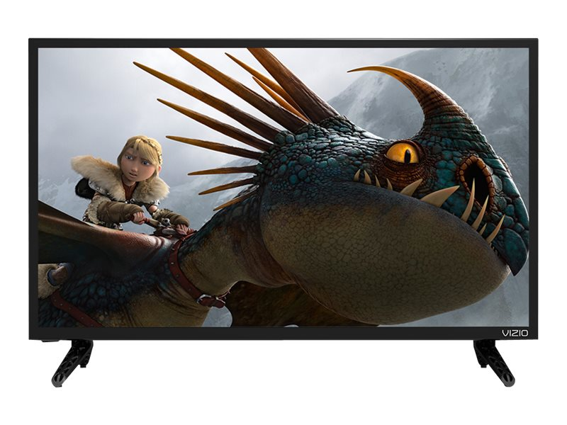 Vizio 24 D24-D1 LED-LCD Smart TV, Black