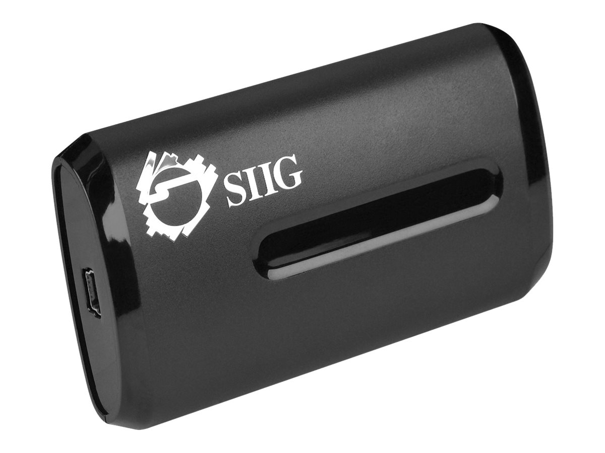 Siig Multi-Input USB 2.0 HD Video Capture Slim Box, JU-AV0312-S1