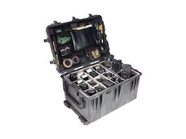 Pelican 1660 with Foam, Black, 1660-020-110, 15182126, Carrying Cases - Other