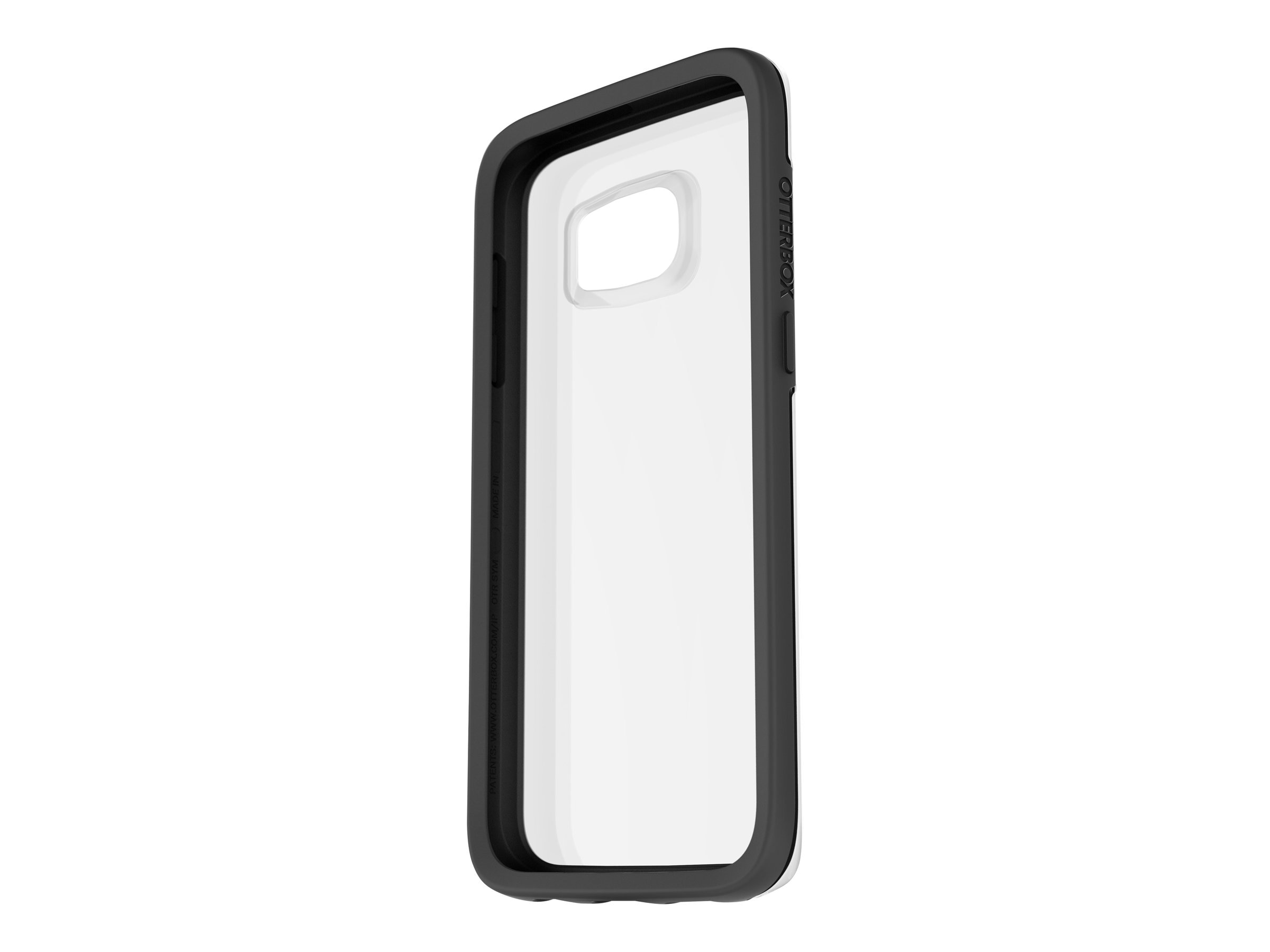 OtterBox Clear Symmetry for Samsung Galaxy S7, Black Crystal