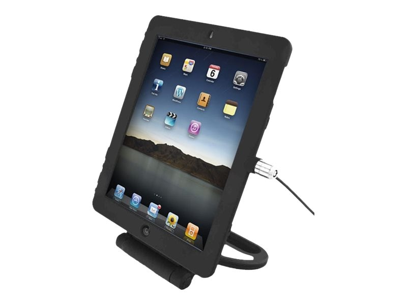 Compulocks iPad Air Case Lock and Security Rotating Stand, IPADAIRRSBB, 17224650, Security Hardware