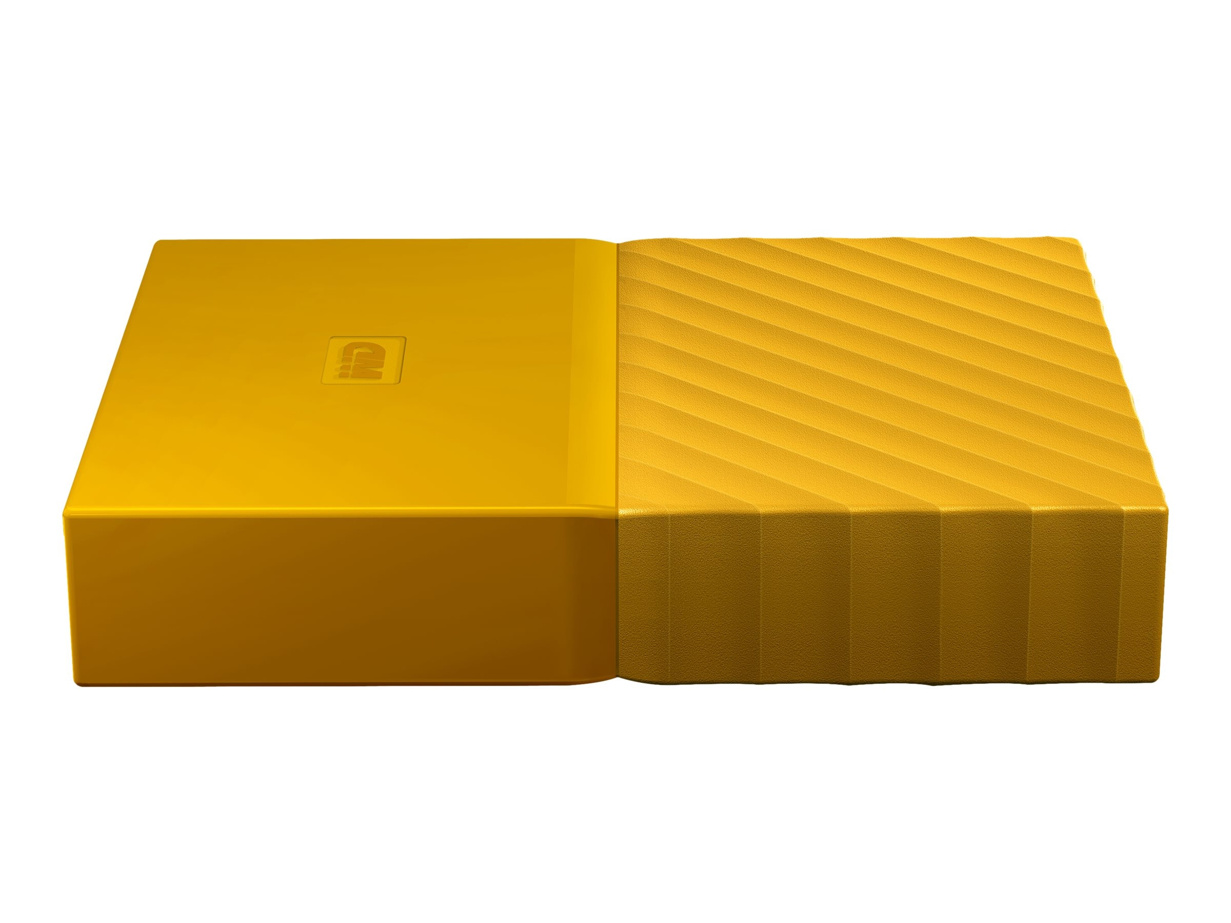 WD 2TB My Passport USB 3.0 Portable Hard Drive - Yellow, WDBYFT0020BYL-WESN