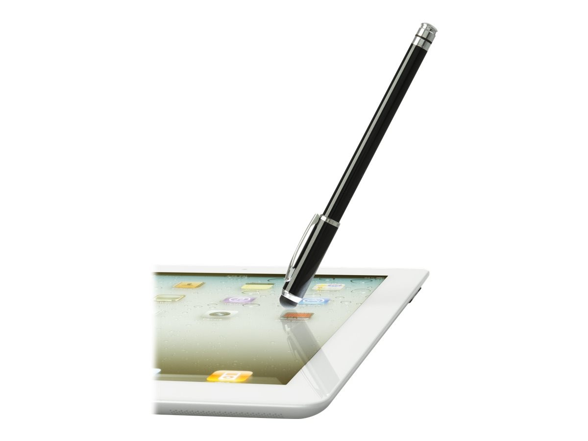 Targus 2-In-1 Stylus for Tablets, Black, AMM02TBUS