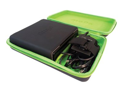Protective Carrying Case for Mini Storage Drive, Power Supply, Connectivity Cable, DR-MINI-1B11, 14599034, Carrying Cases - Other