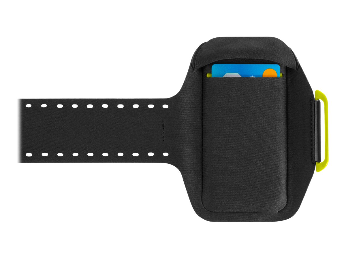 Belkin Sport-Fit Plus Armband for iPhone 6, Blacktop Limelight, F8W501BTC02