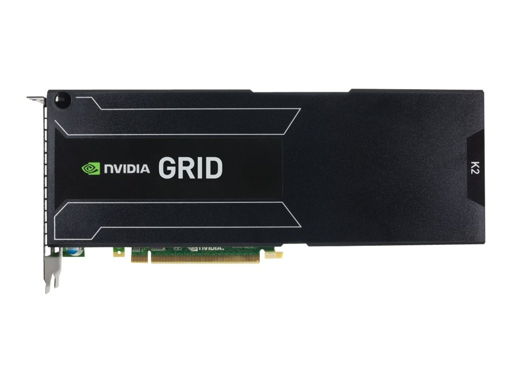 HP NVIDIA GRID K2 PCIe Graphics Card, 6GB GDDR5, 729851-B21, 16460976, Graphics/Video Accelerators
