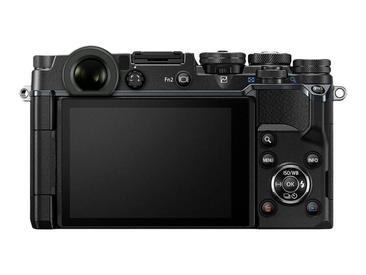 Olympus PEN-F Mirrorless Digital Camera, 20MP, Black (Body Only), V204060BU000