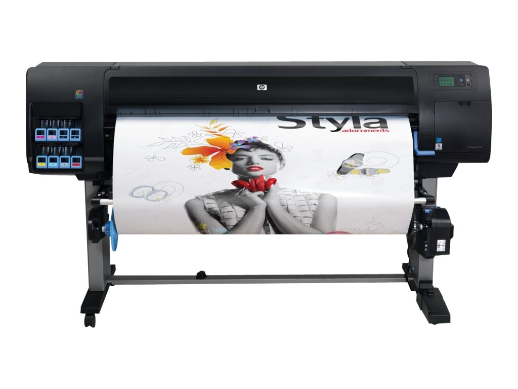 HP Designjet Z6200 60 Photo Printer w  Encrypted Hard Disk, CQ111B#BCB, 13568623, Printers - Large Format