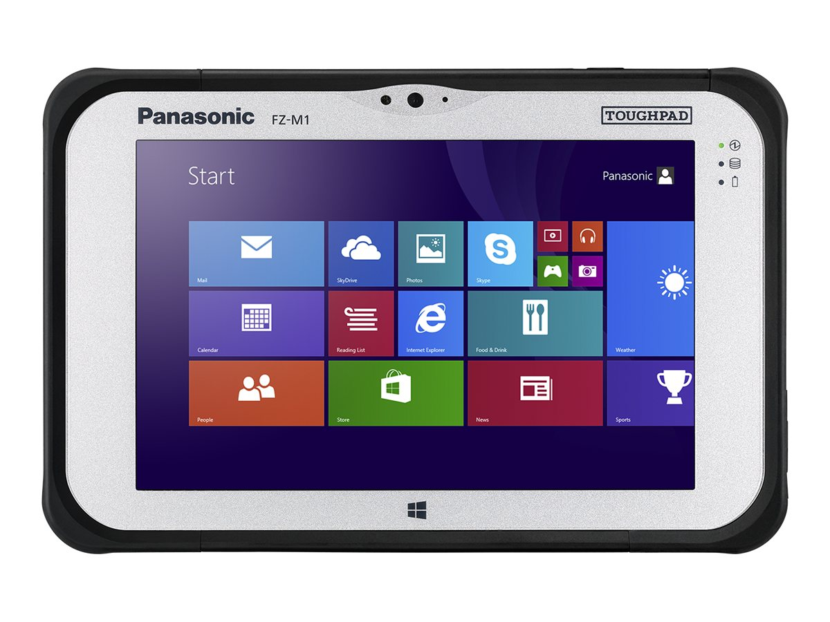 Panasonic Toughpad FZ-M1 vPro Core i5-4302Y 1.6GHz 7 WXGA MT W8.1