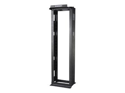 Ortronics Mighty Mo 6 Cable Management Rack, 6.5 Channel Depth x 7', Black