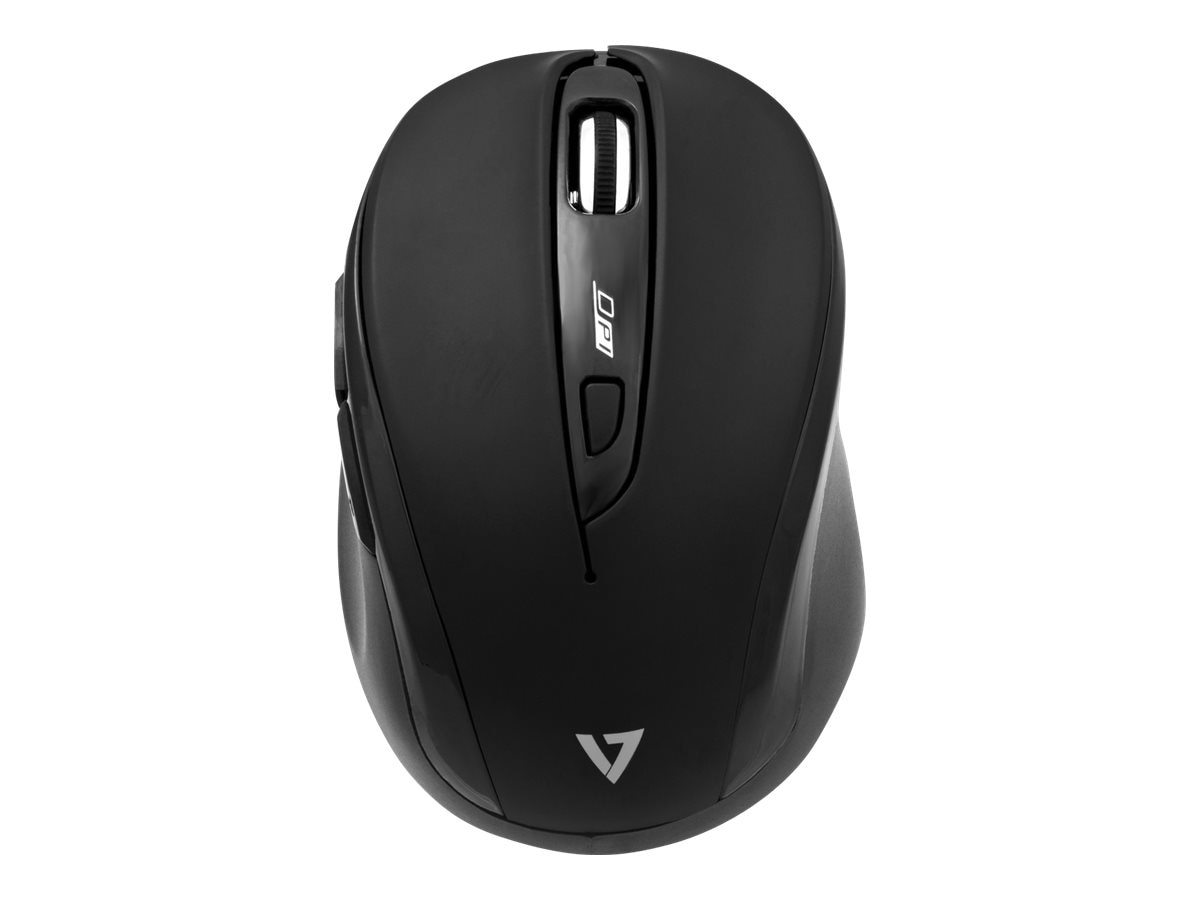 V7 Wireless Mouse 6-Button 1000 1200 1600dpi, MV3080-1N
