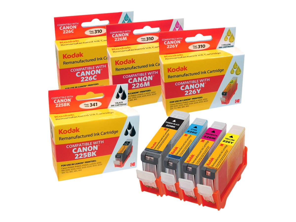 Kodak 4530B008 Ink Cartridge Combo Pack for Canon PIXMA