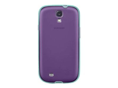 Belkin Grip Candy Case for Samsung Galaxy S4, Purple Jade, F8M556BTC04, 15961091, Carrying Cases - Phones/PDAs