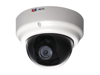 Acti KCM-3311 3.6x Zoom 4 MP IP Day Night dome camera with P-Iris & ExDR