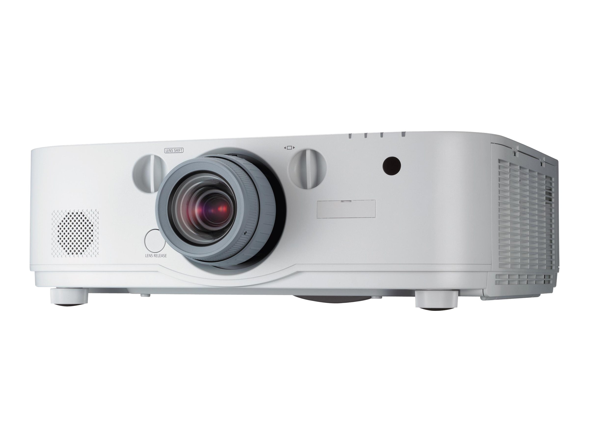 NEC NP-PA622U WUXGA LCD Projector, 6200 Lumens, White with Zoom Lens
