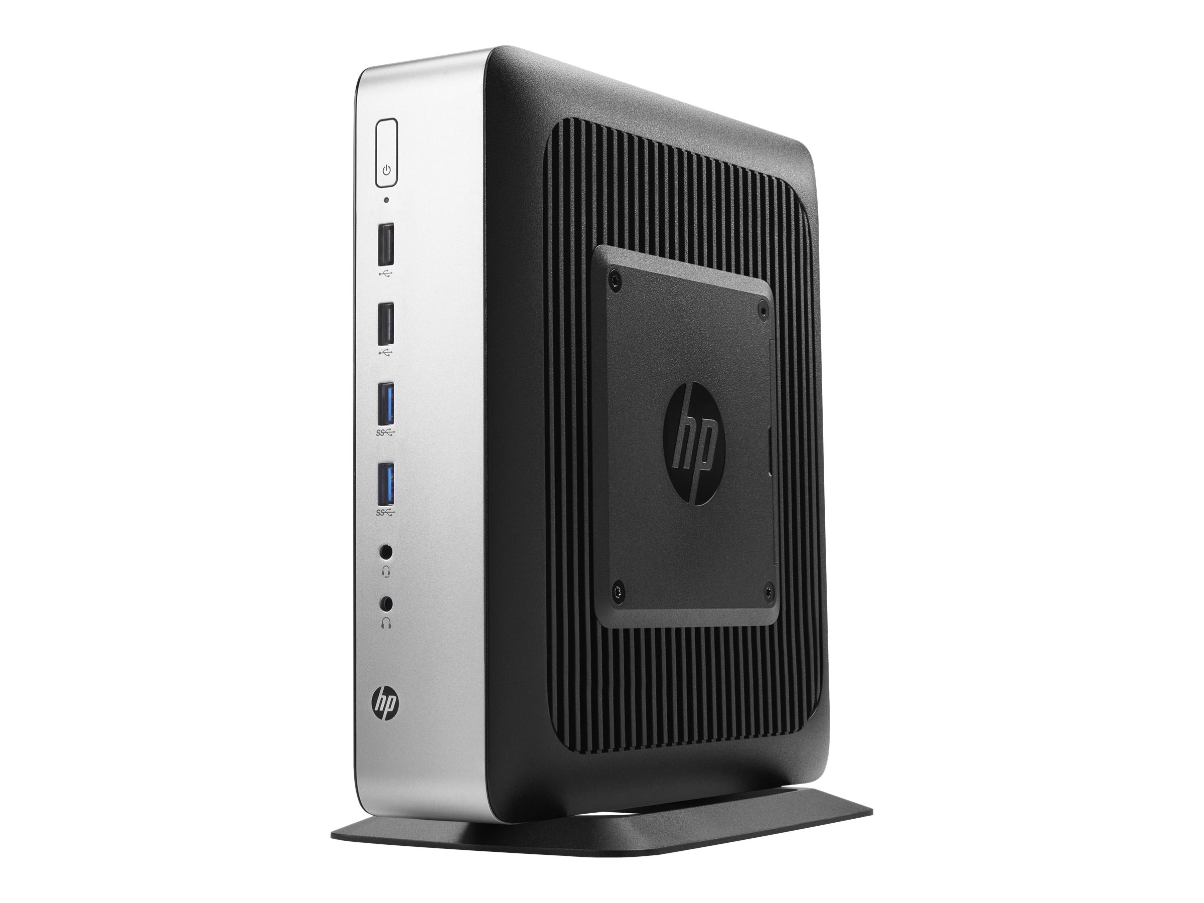 HP t730 Thin Client AMD RX-427BB 2.7GHz 8GB 32GB Flash HD9000 GbE ac WES7P, P5V91UT#ABA, 30886076, Thin Client Hardware