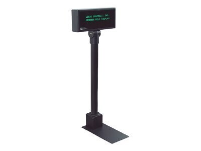 Logic Controls PD3900 Pole Display 5MM USB Powered Logic OPOS JPOS Black