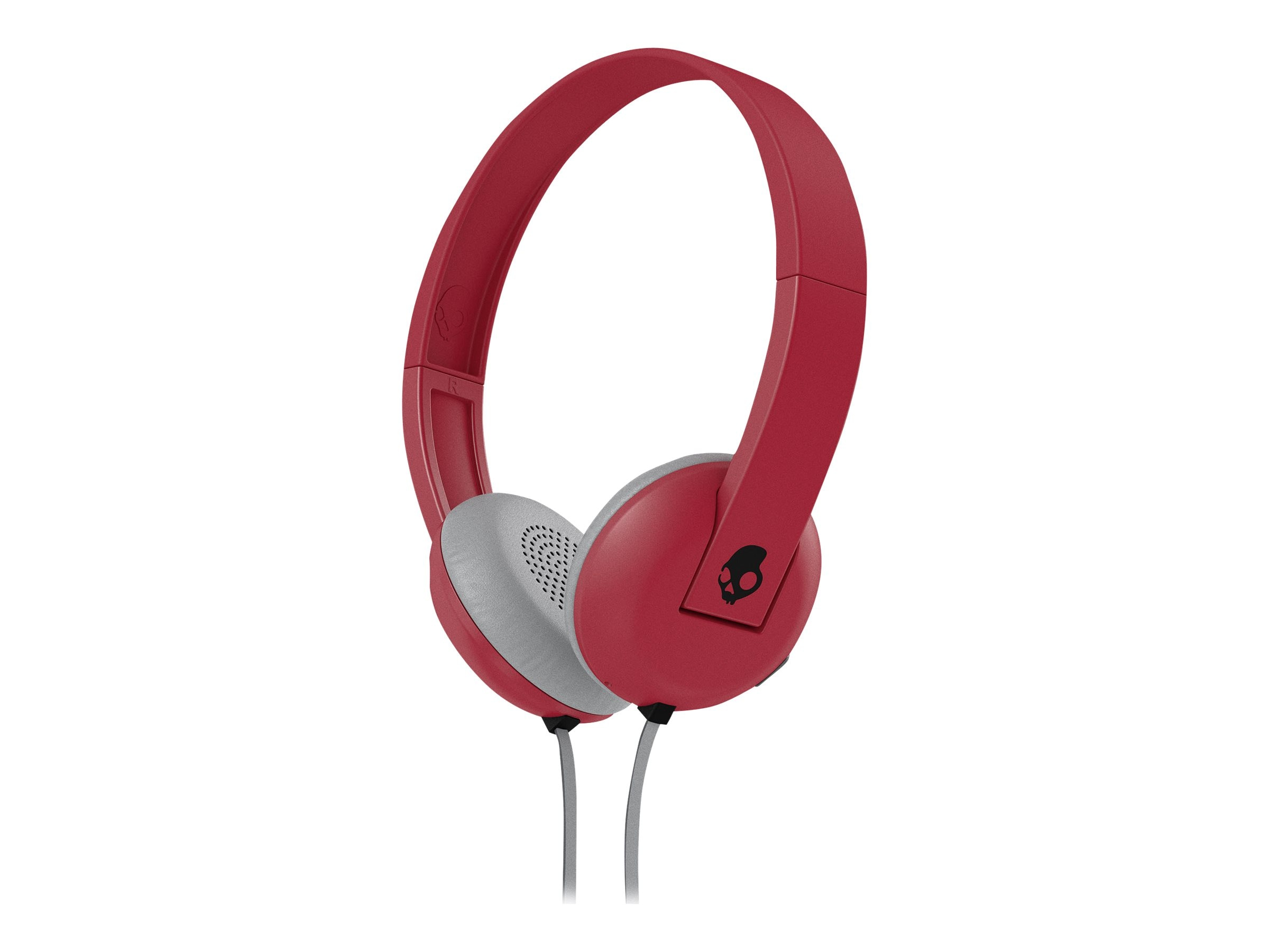 Skullcandy Uproar Headphones w  Tap Tech - Illfamed Red Black, S5URHT-462, 23836839, Headsets (w/ microphone)