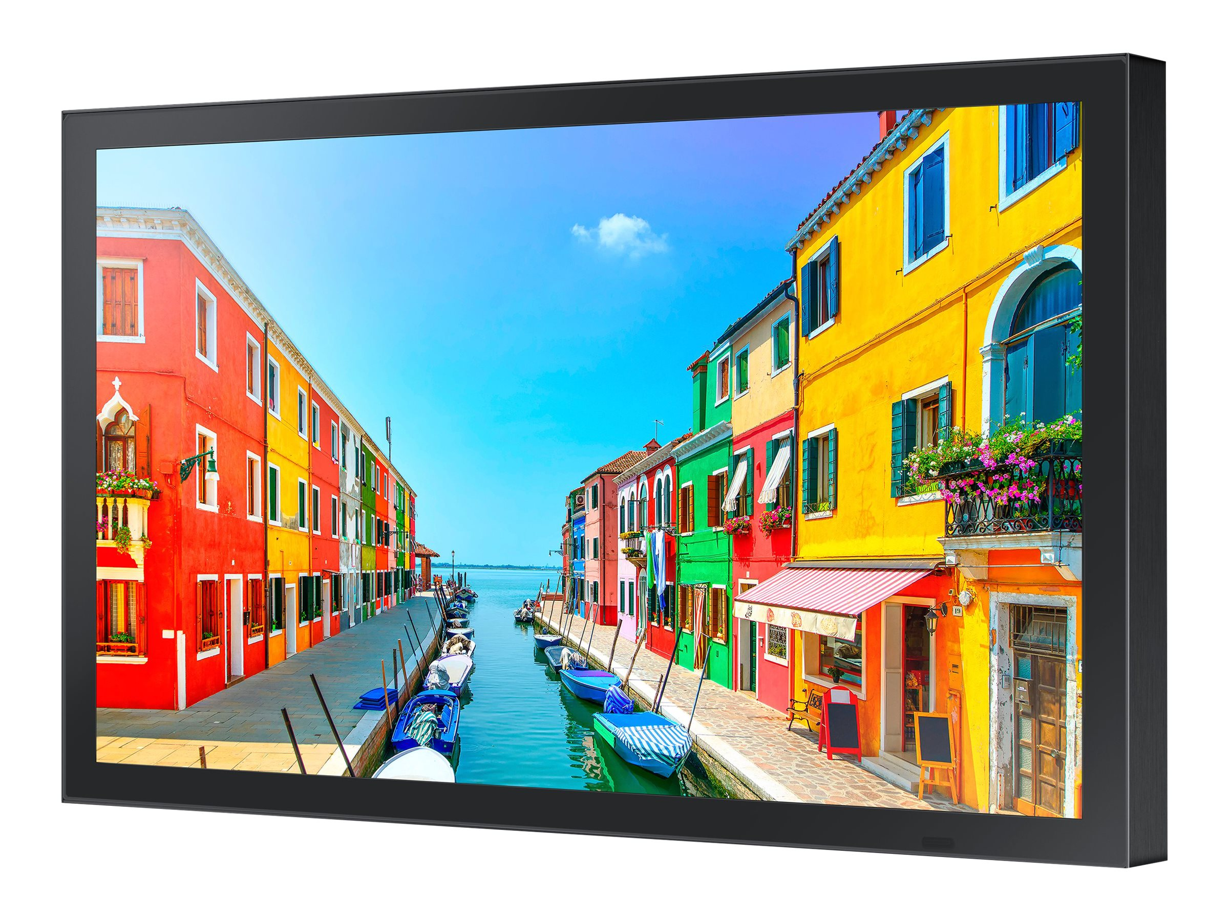 Samsung 23.8 OH-E Full HD LED-LCD Commercial Display, Black, OH24E