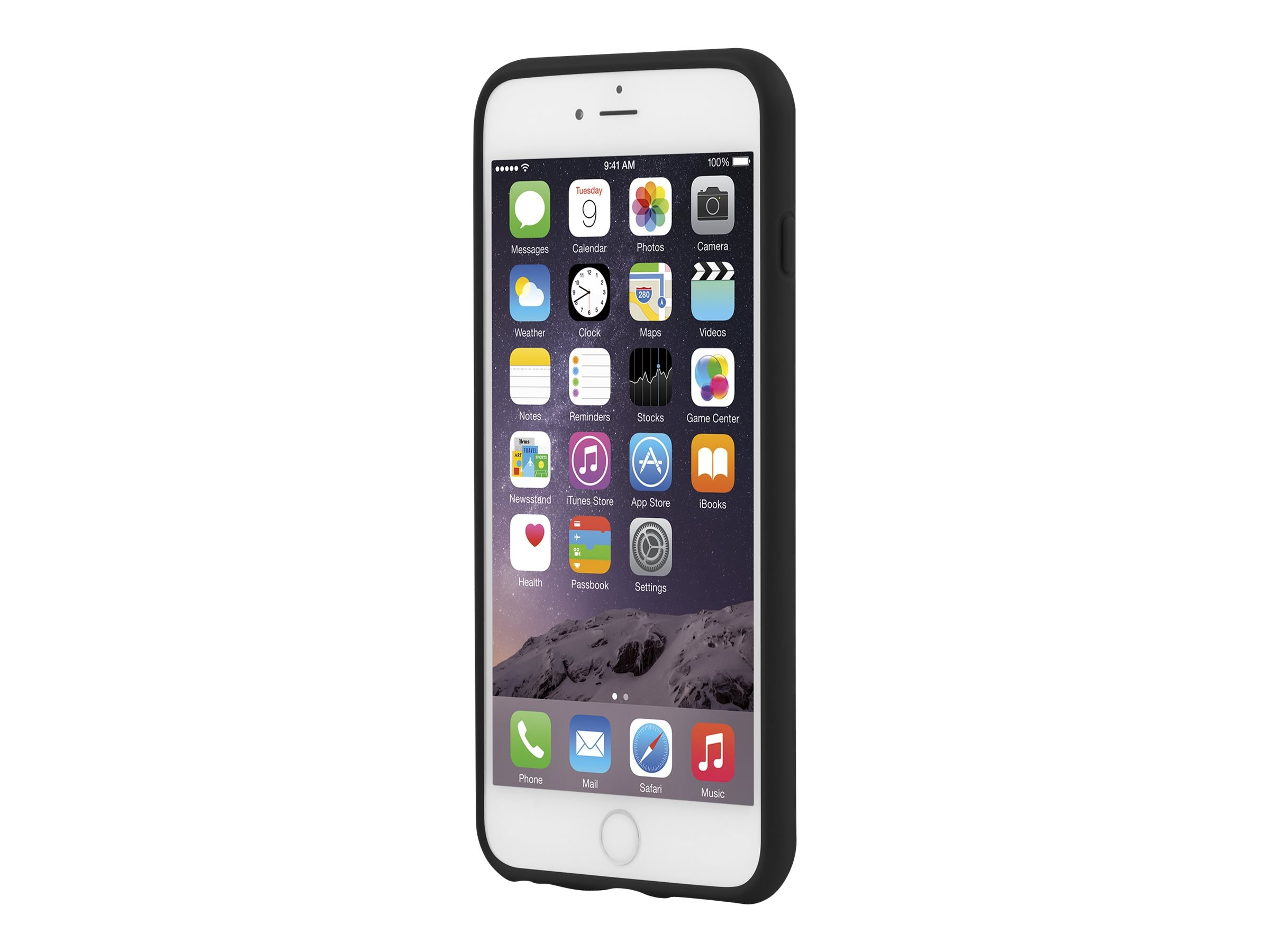 Incipio Rival for iPhone 6 Plus, 5.5, Black
