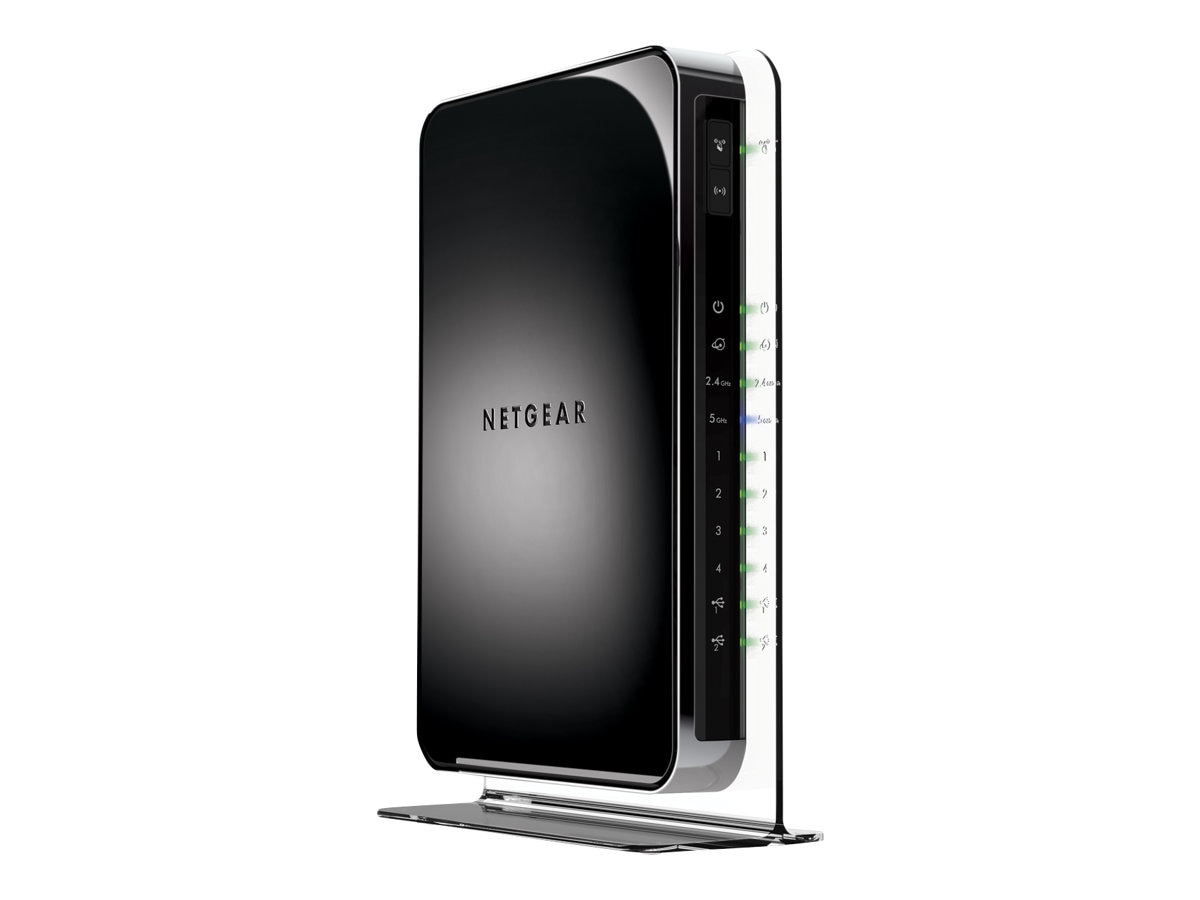Netgear N900 Dual-Band Wireless-N Gigabit Router, WNDR4500-100PAS