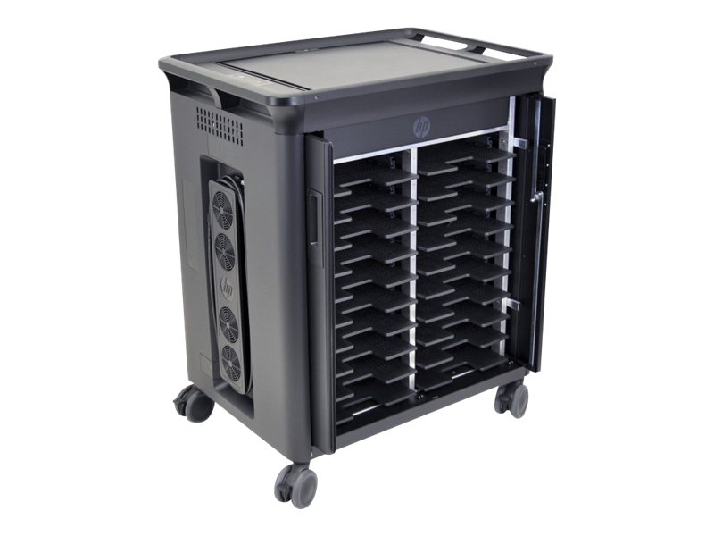 HP Managed Notebook Charging Cart, 20-Unit, QL489UT#ABA
