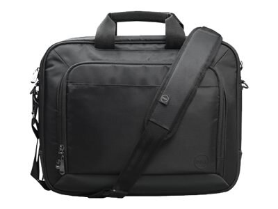 Dell Professional Topload Carrying Case 15.6, Black, WG1V8, 30977648, Carrying Cases - Notebook