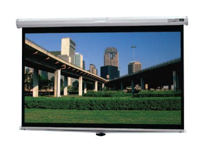 Da-Lite Deluxe Model B Projection Screen, Matte White, 16:9, 106