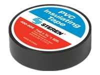 Steren Electrical Tape, 60ft, Black (10-pack)