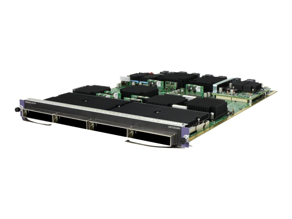 HPE FlexFabric 12900 4-port 100GbE CFP EC Module, JG858A, 16950924, Network Device Modules & Accessories