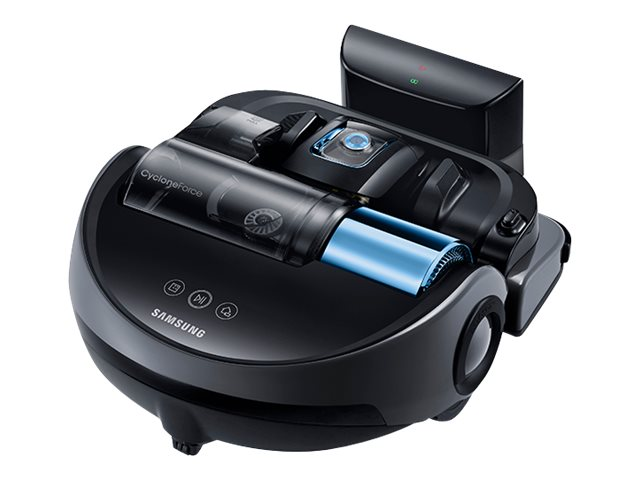 Samsung PowerBot Cleaning Robot Vacuum with WiFi, Graphite Blue