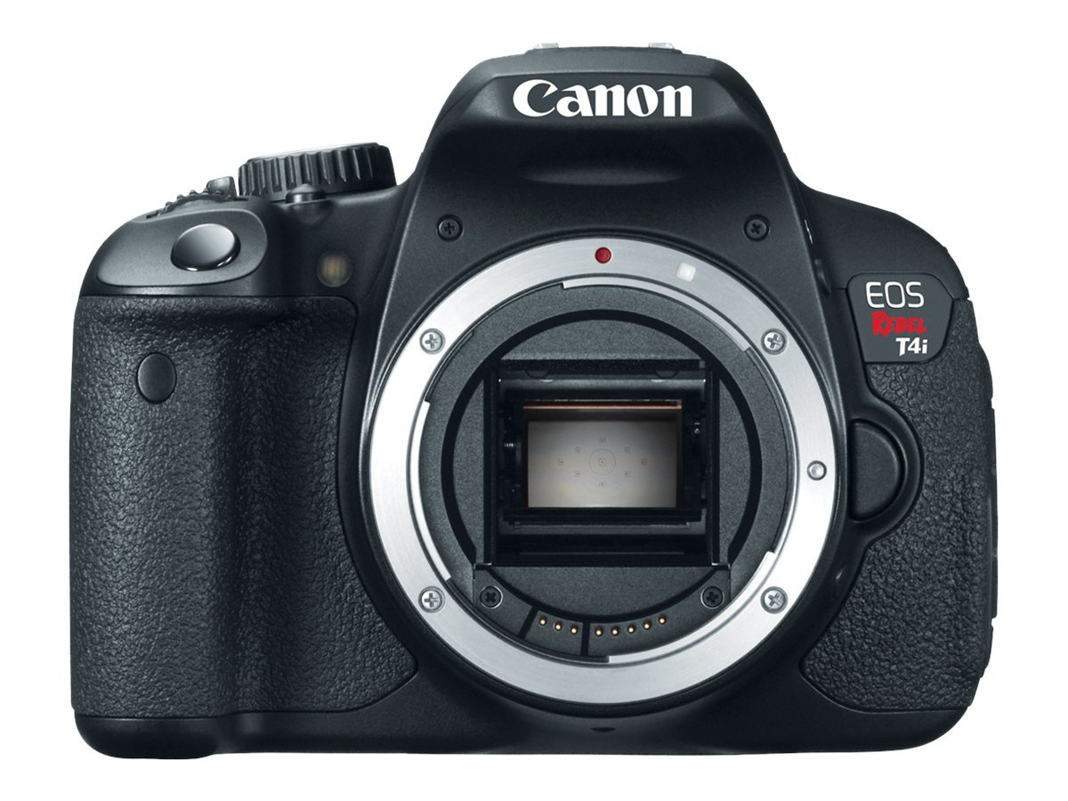 Canon Canon EOS Rebel T4i Digital Camera (Body Only), 6558B001