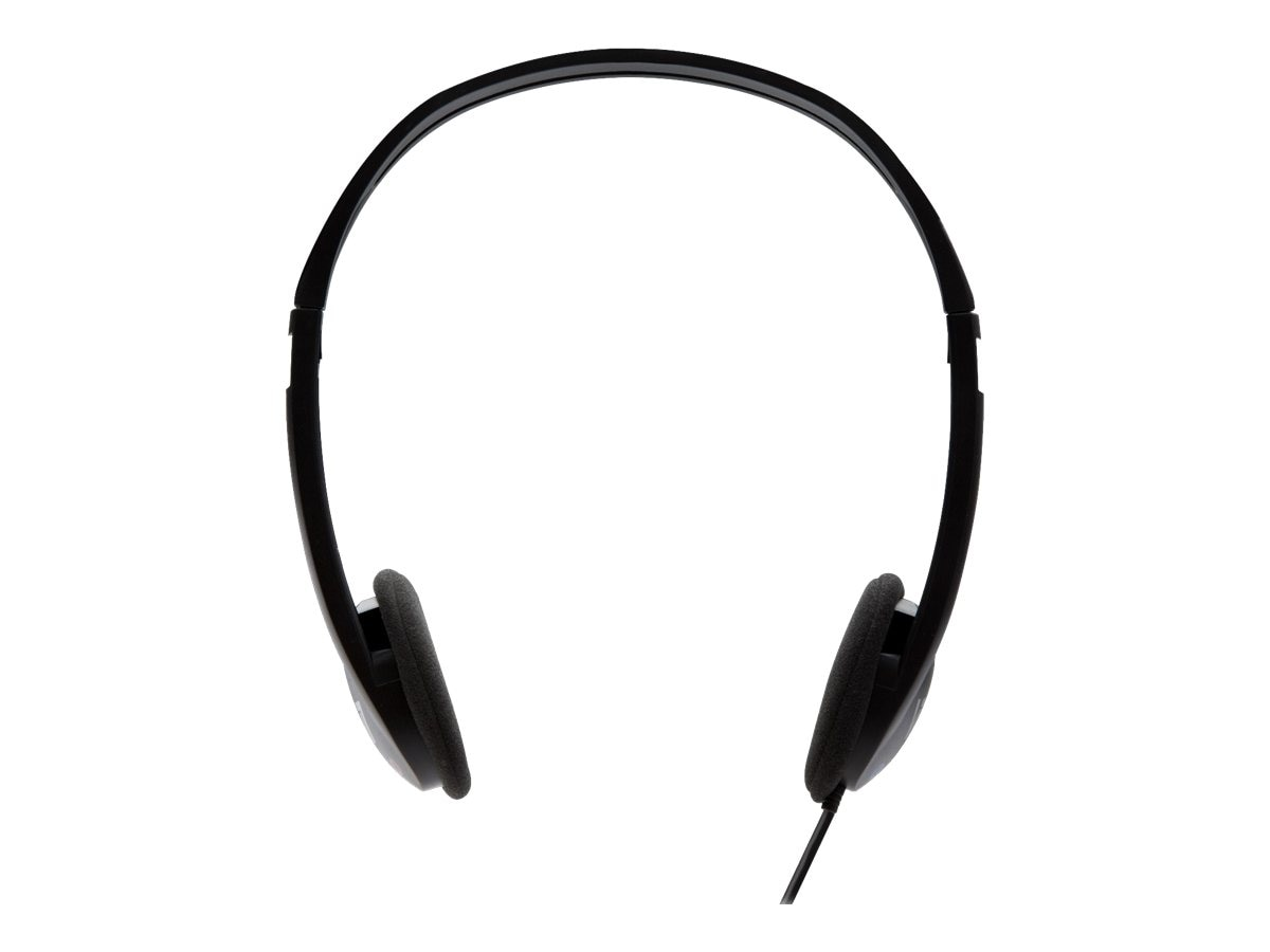 V7 Stereo Headphones, 3.5mm, Black
