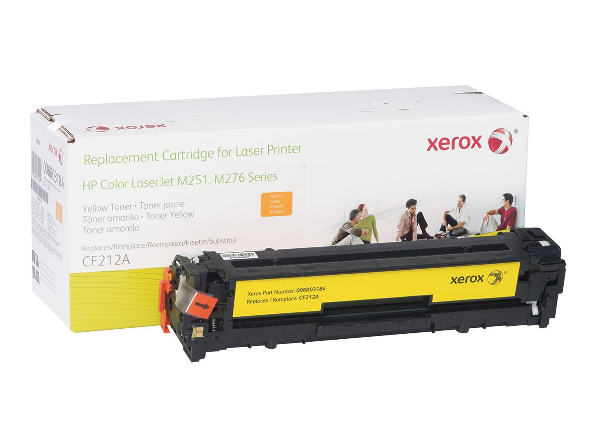 Xerox Yellow Toner Cartridge for HP Color LaserJet M251 & M276 Series, 006R03184