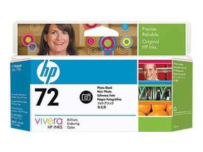 HP 72 Photo Black Ink Cartridge (130ml) C9370A, C9370A, 7614697, Ink Cartridges & Ink Refill Kits